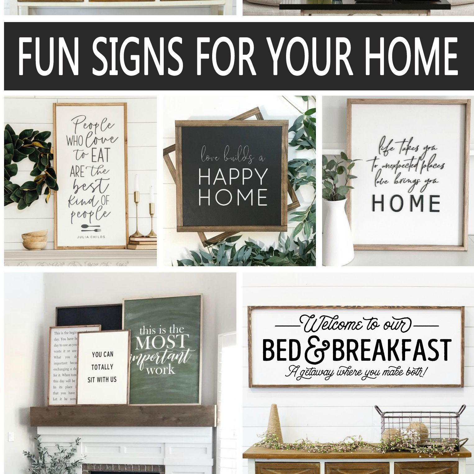 Fun Wood Signs For Your Home Eighteen25 Wood Signs Home Decor Signs Fun Signs