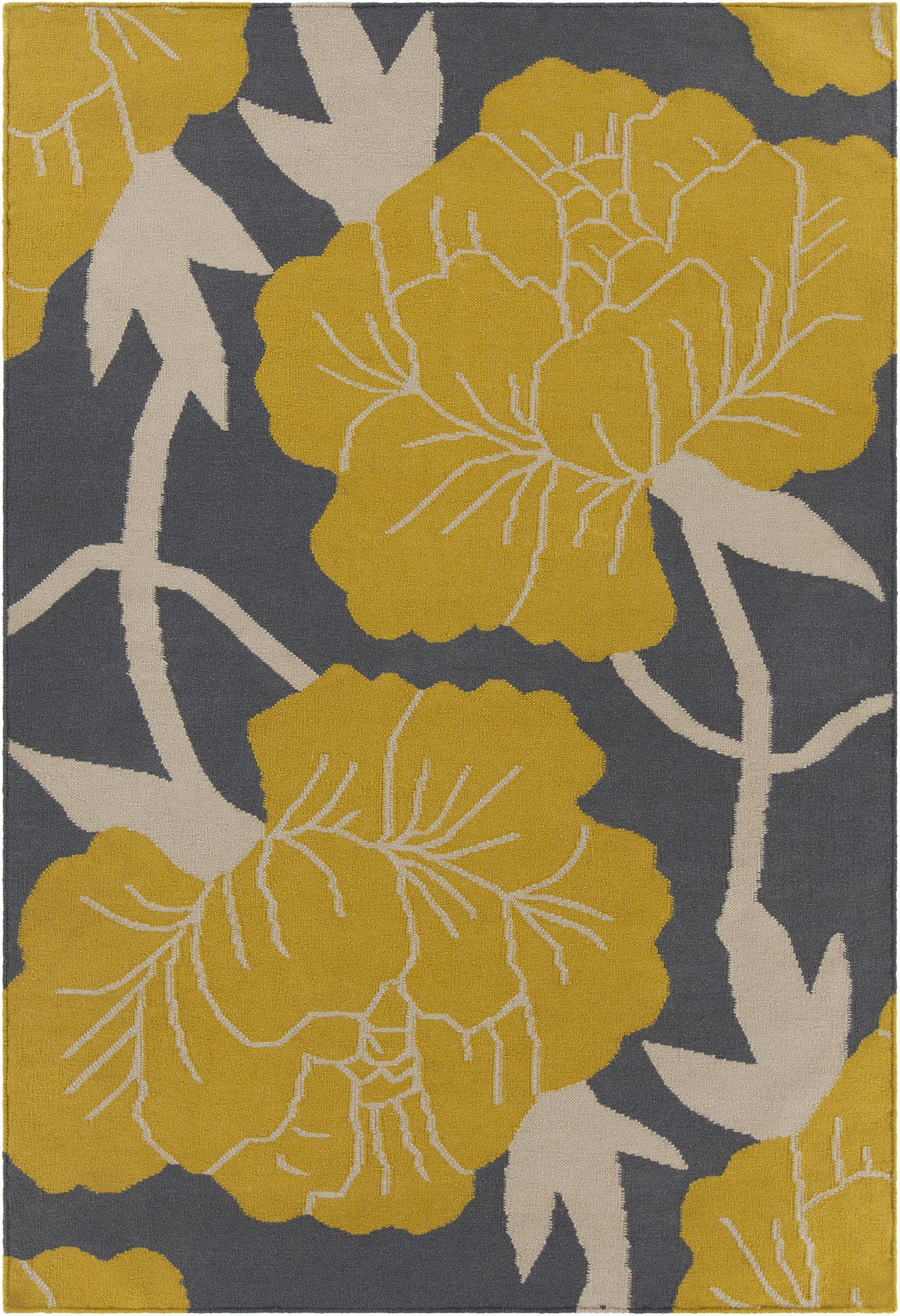 Thomaspaul collection flatweave area rug in grey yellow white thomaspaul collection flatweave area rug in grey yellow white design by chandra rugs mightylinksfo