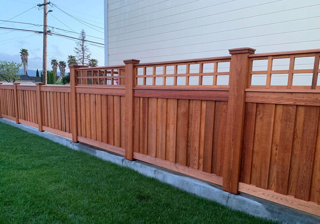 Clear Western Red Cedar Building Materials Used For Custom Fence Wood Fence Design Western Red Cedar Red Cedar