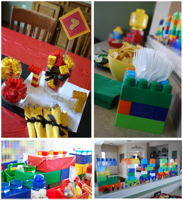 Party Obsession: Building a Lego Party | Legos, Legos and Lego party ...