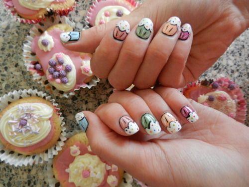 #cupcakenails