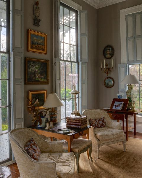 Decorating With The French Bergere Chair Country Interior Country Living Room Interior Design