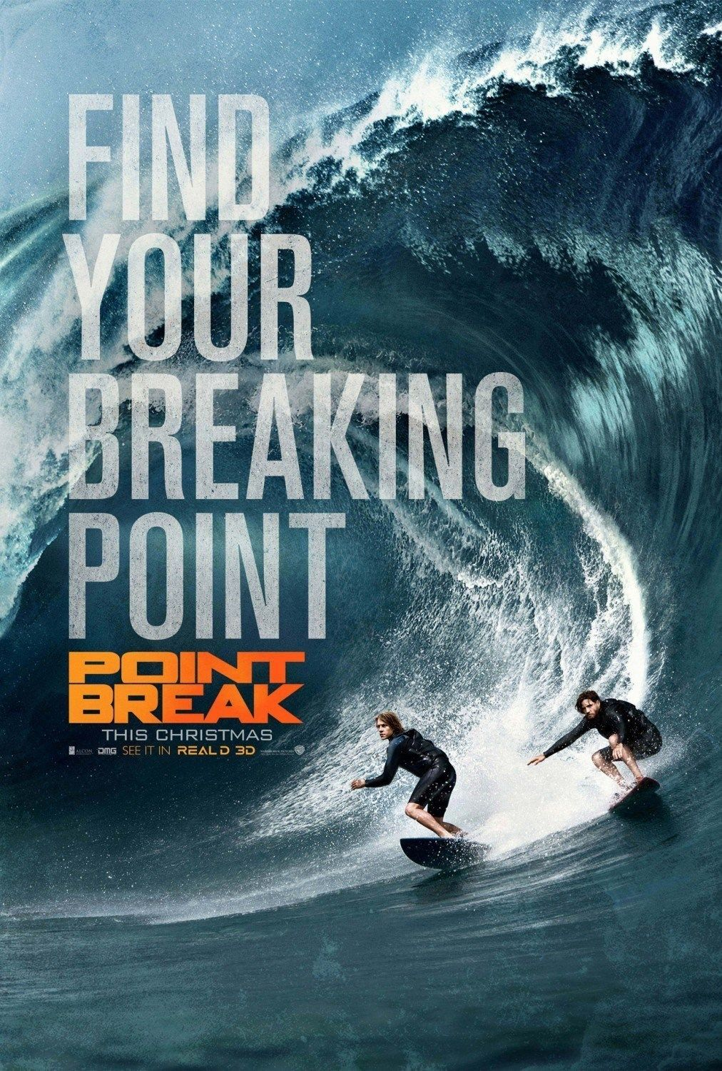 """""""Point Break"""" (2015), captures the edgy spirit of the"""