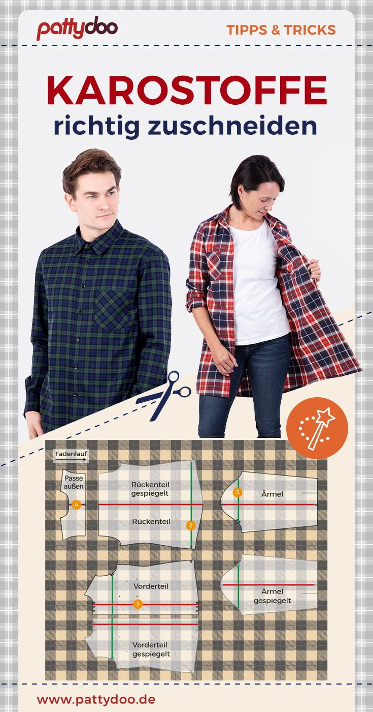 Photo of Cut check fabric – Instructions with many tips