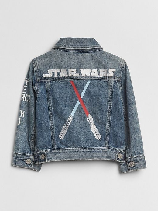 7380ba634 Gap Baby Babygap | Star Wars™ Denim Jacket Medium Wash | Products in ...