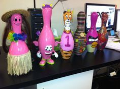 How To Decorate A Bowling Ball Decorate Bowling Pins  Bowling Oin  Pinterest  Bowling