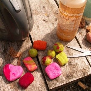 Simple Felted Soap Tutorial