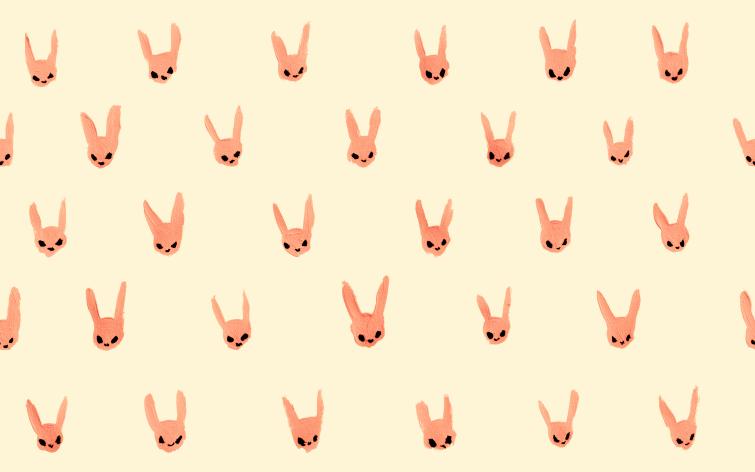 48+ Best White rabbit tattoo cream image HD
