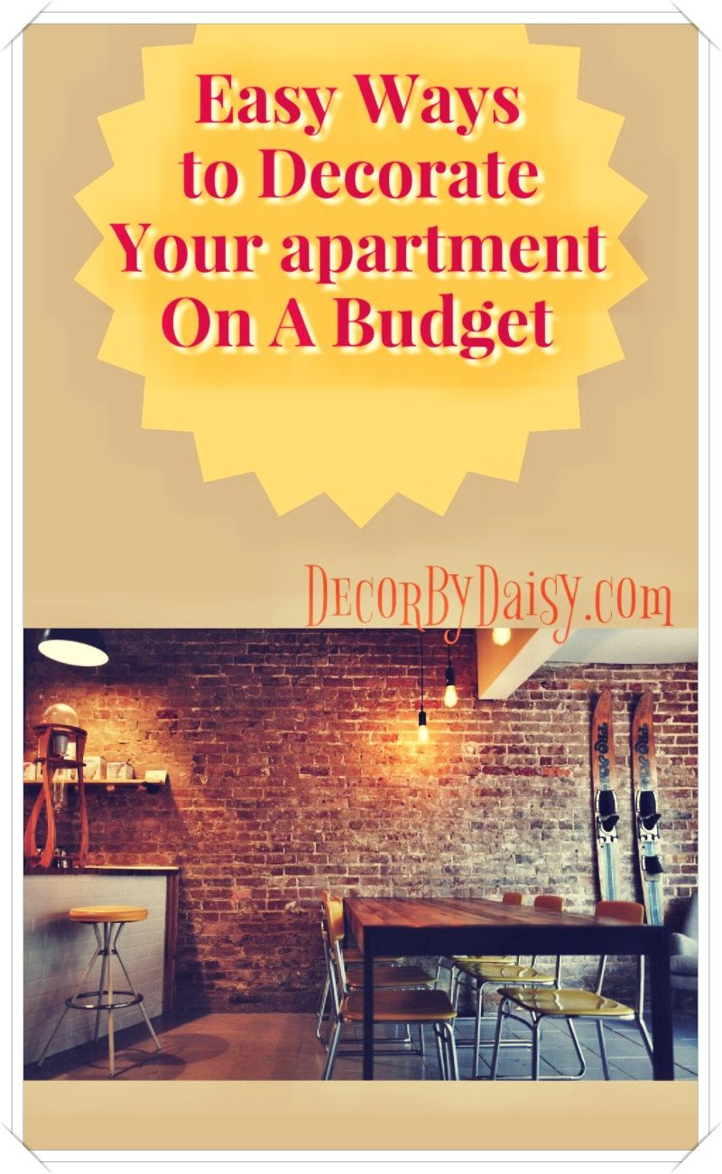 5 Tips For Apartment Decorating On A Budget