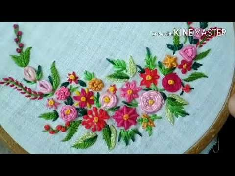This Video Channel Contains Lot Of Hand Embroidery Work Designs