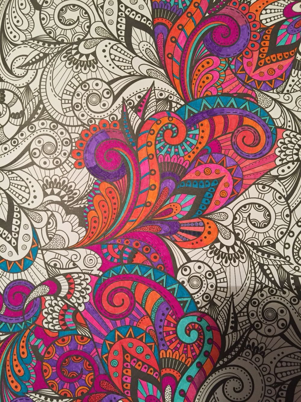 Creative Therapy Colouring Book | Coloring pages | Pinterest ...