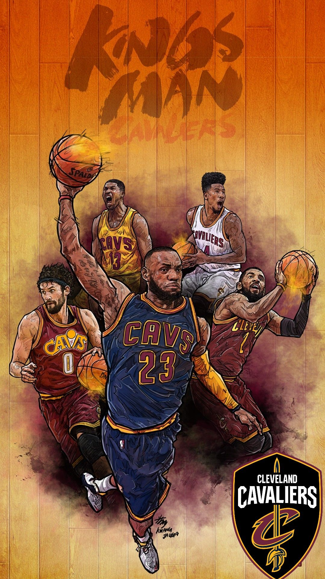 Cleveland Cavaliers 2019 Picture Hupages Download Iphone Wallpapers Cavaliers Wallpaper Love And Basketball Nba Art