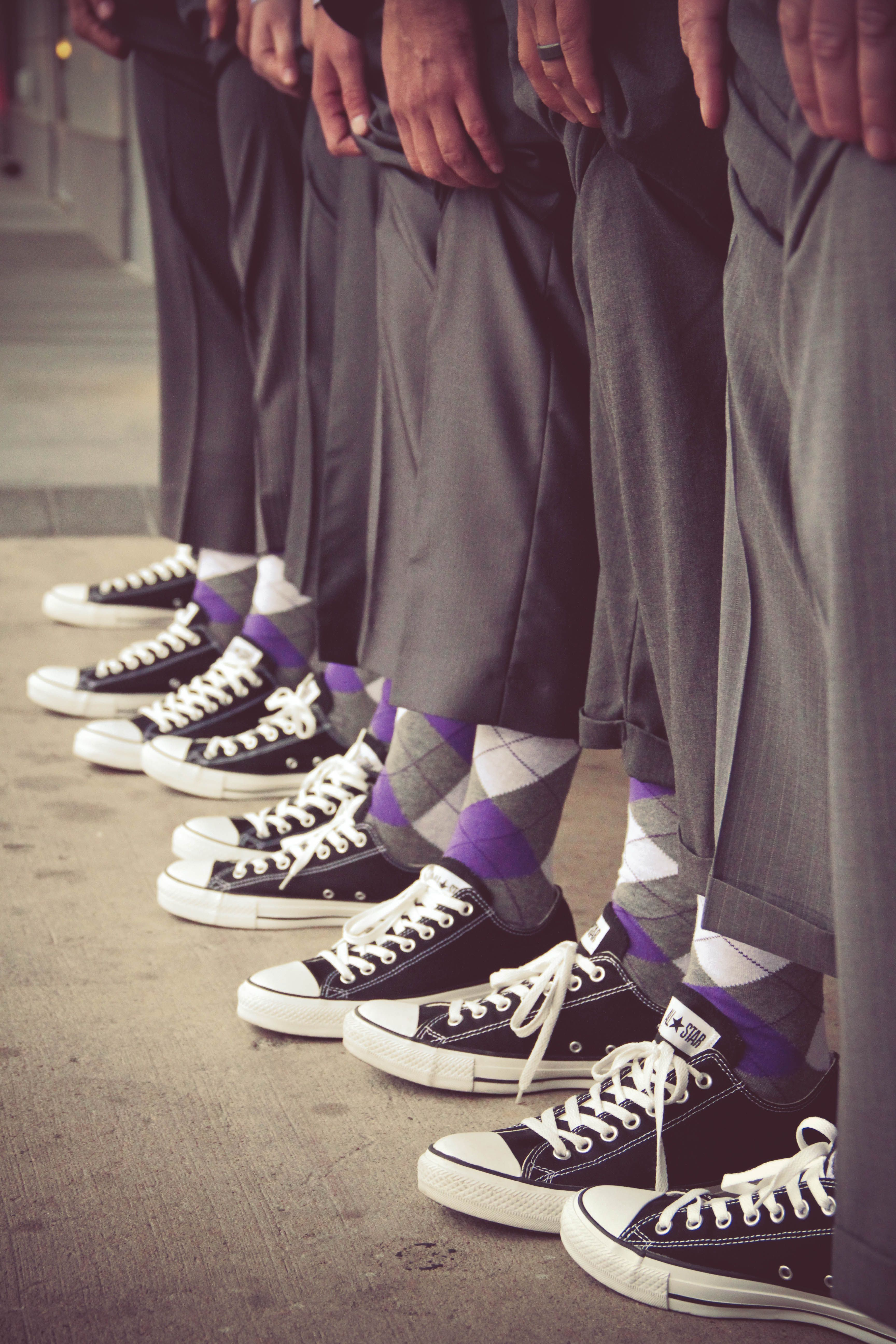 Crazy Groomsmen Yes These Are My Son In Laws Groomsmen It Fit Him Perfectly Wedding Converse Wedding Photography Styles Groomsmen Shoes