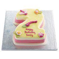 Remarkable Pretty Bugs Number 2 Cake Waitrose Number 2 Cakes Cake Funny Birthday Cards Online Inifofree Goldxyz