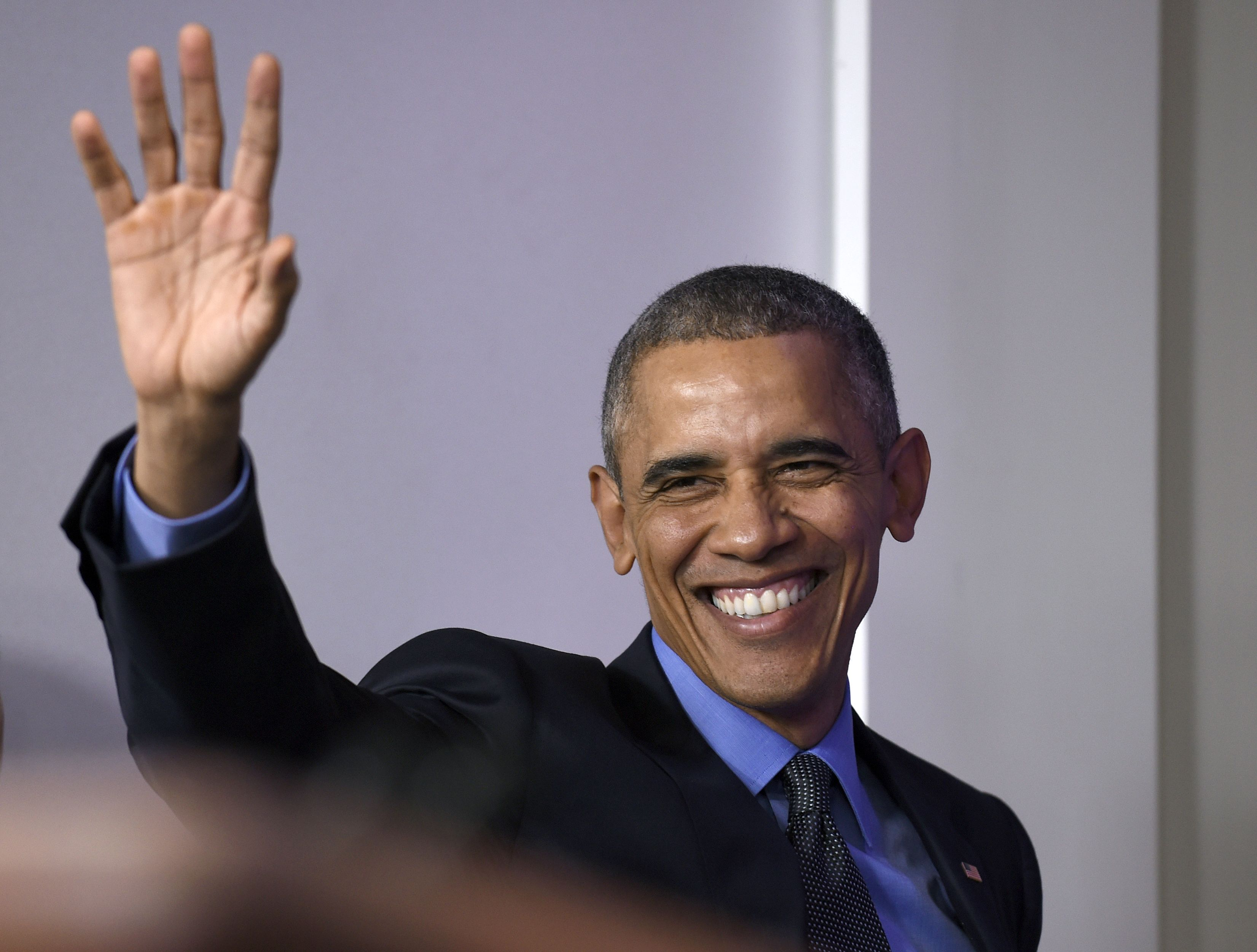 """""""Tell It Like It Is"""" Talk Show: Obama Gives Himself a Pat on the Back for 2015"""