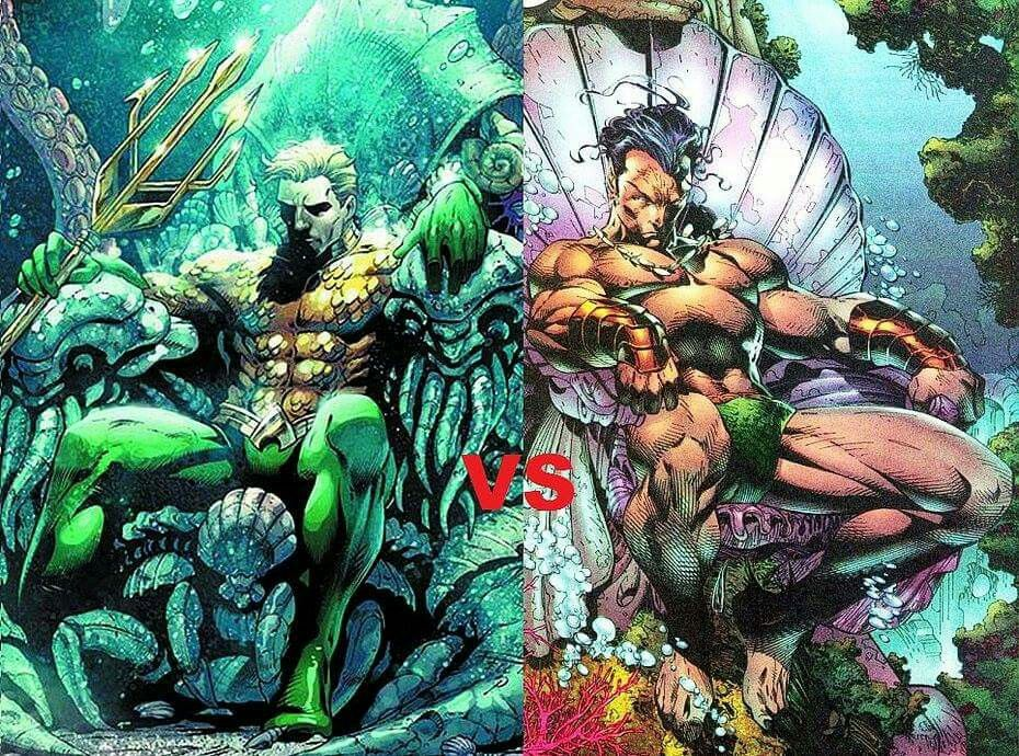 Aquaman Vs Namor The Sub Mariner Comics Toons And Cool Art