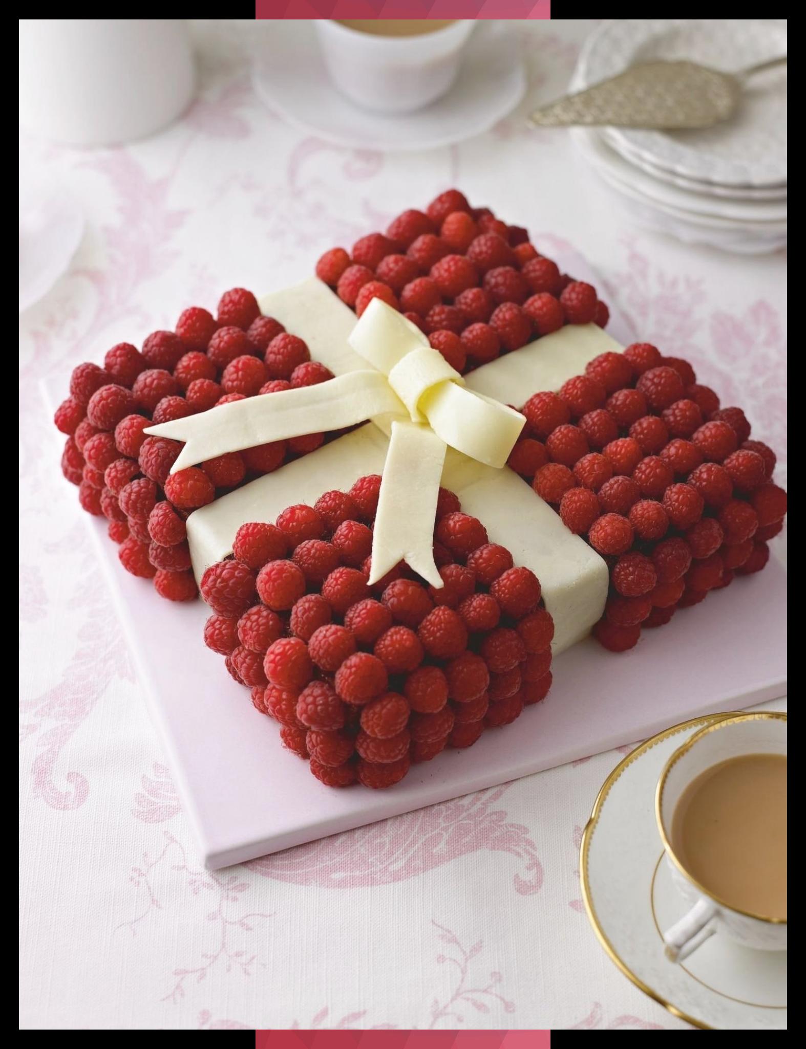 Jewel Box Cake - The Happy Foodie #Box #Cake #Foodie #Happy #jewel