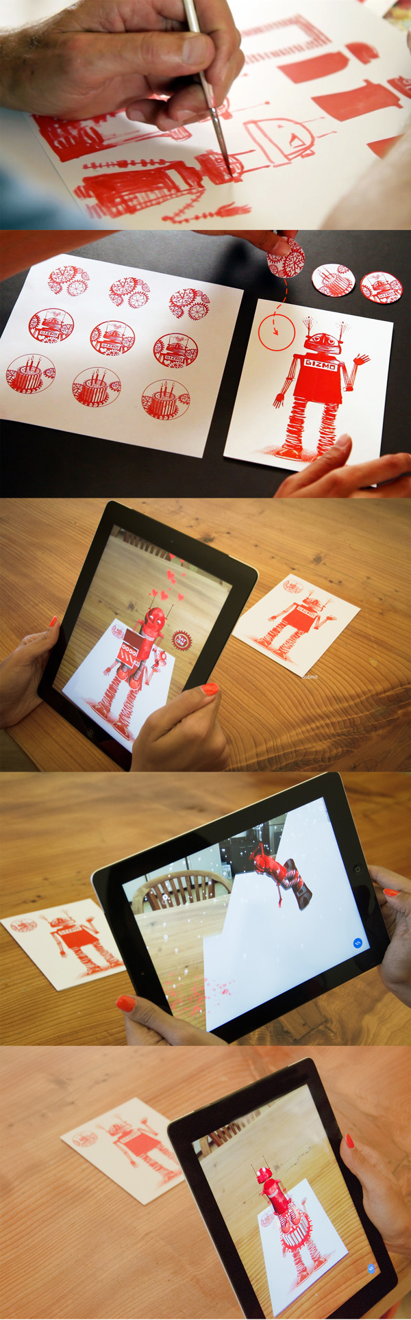 Ux design for gizmo augmented reality greeting cards by nafeesa ux design for gizmo augmented reality greeting cards by nafeesa jafferjee via behance m4hsunfo