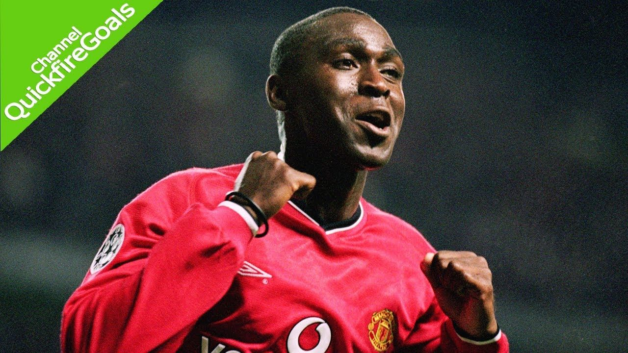Andy Cole S 121 Goals For Manchester United Youtube Andy Cole Music
