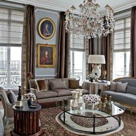 Designer Jean-Louis Deniot creates a soft and luxurious interior for this period apartment in Paris. Via Architectural Digest.