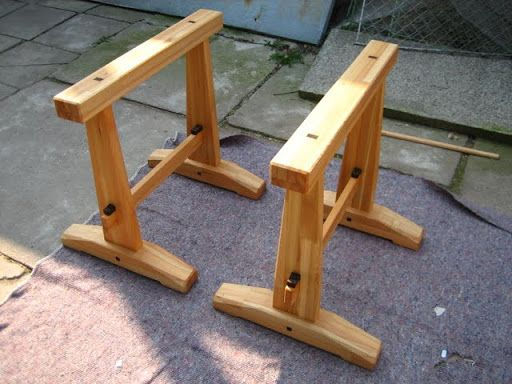 Japanese Style Saw Horse Work Benches In 2019 Timber