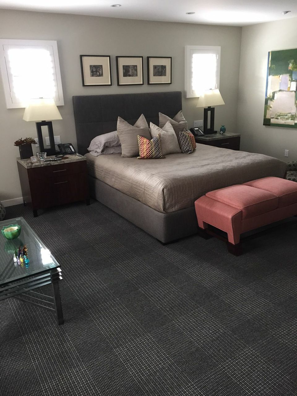 Bedroom By Luke Hamilton Design Using Starks Brigade Carpet Style In Color Twilight StarkTouch