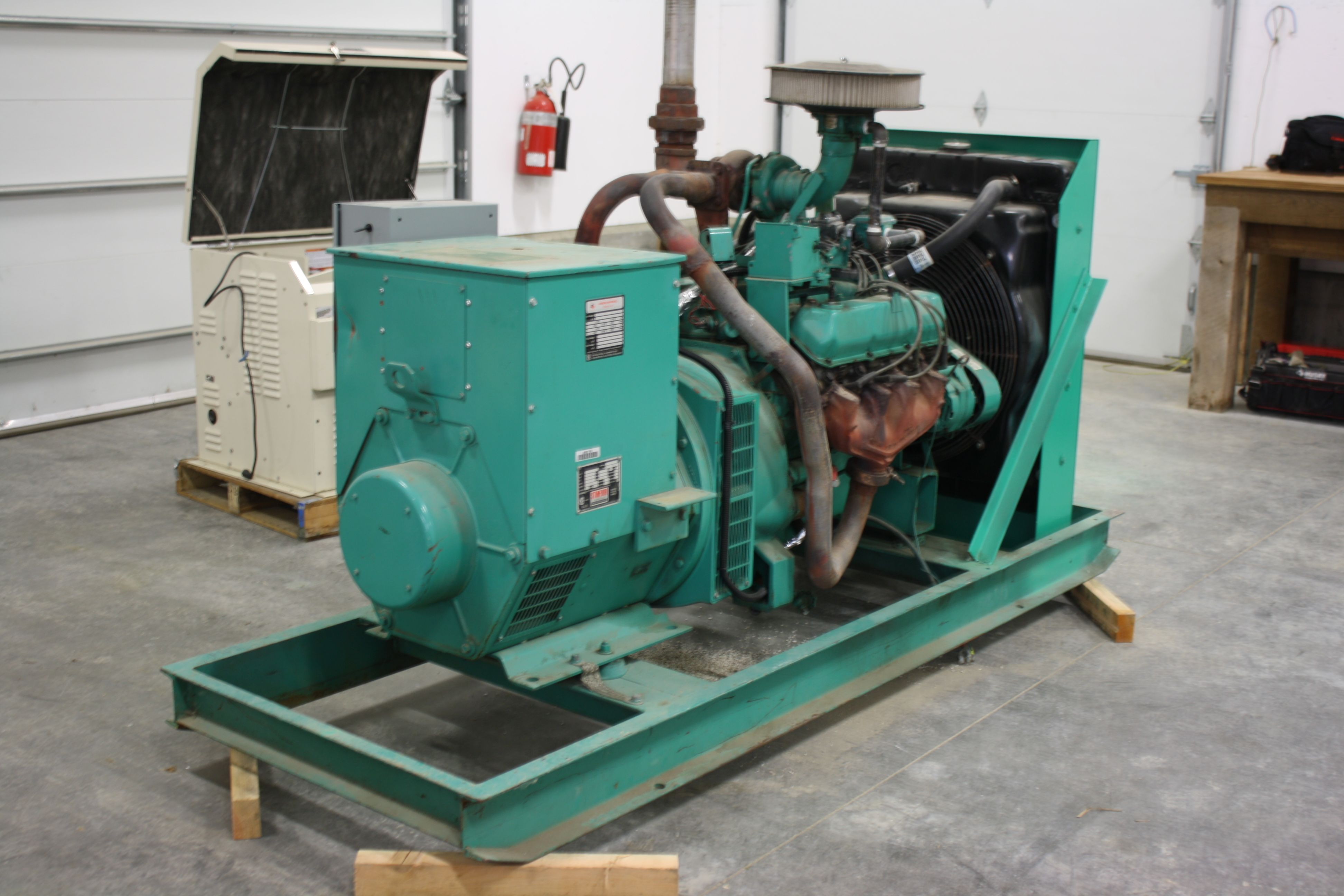 Used Simpson Maxwell Generator Blow Out Price 9500 90 Kwe 3 Phase Natural Gas Or 65 Kwe Single Pha Generators For Sale Used Generators For Sale Generation