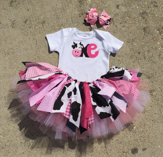 Pink Cowgirl Birthday Outfit First By LilNicks