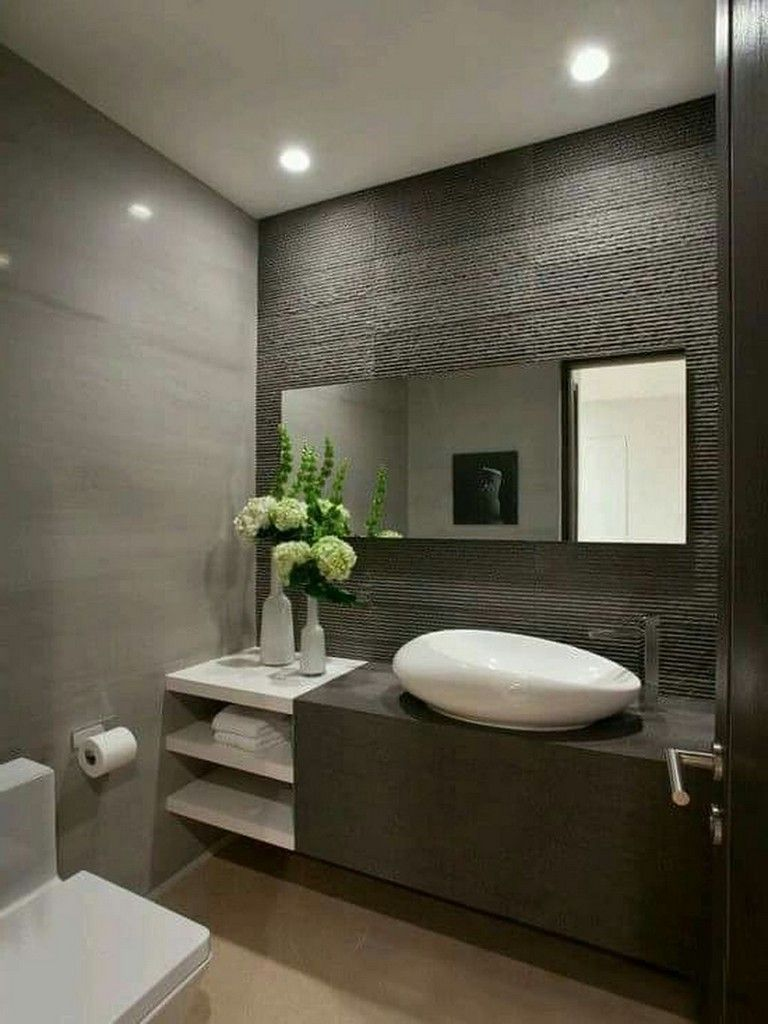 40 Top Modern Contemporary Bathroom Design Ideas To Make Luxurious Look Page 10 Of 42 Contemporary Bathroom Designs Bathroom Design Small Toilet Design