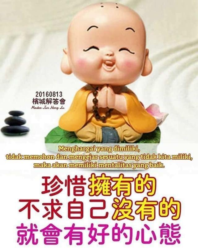 master jun hong lu: menghargai yang dimiliki tidak memohon