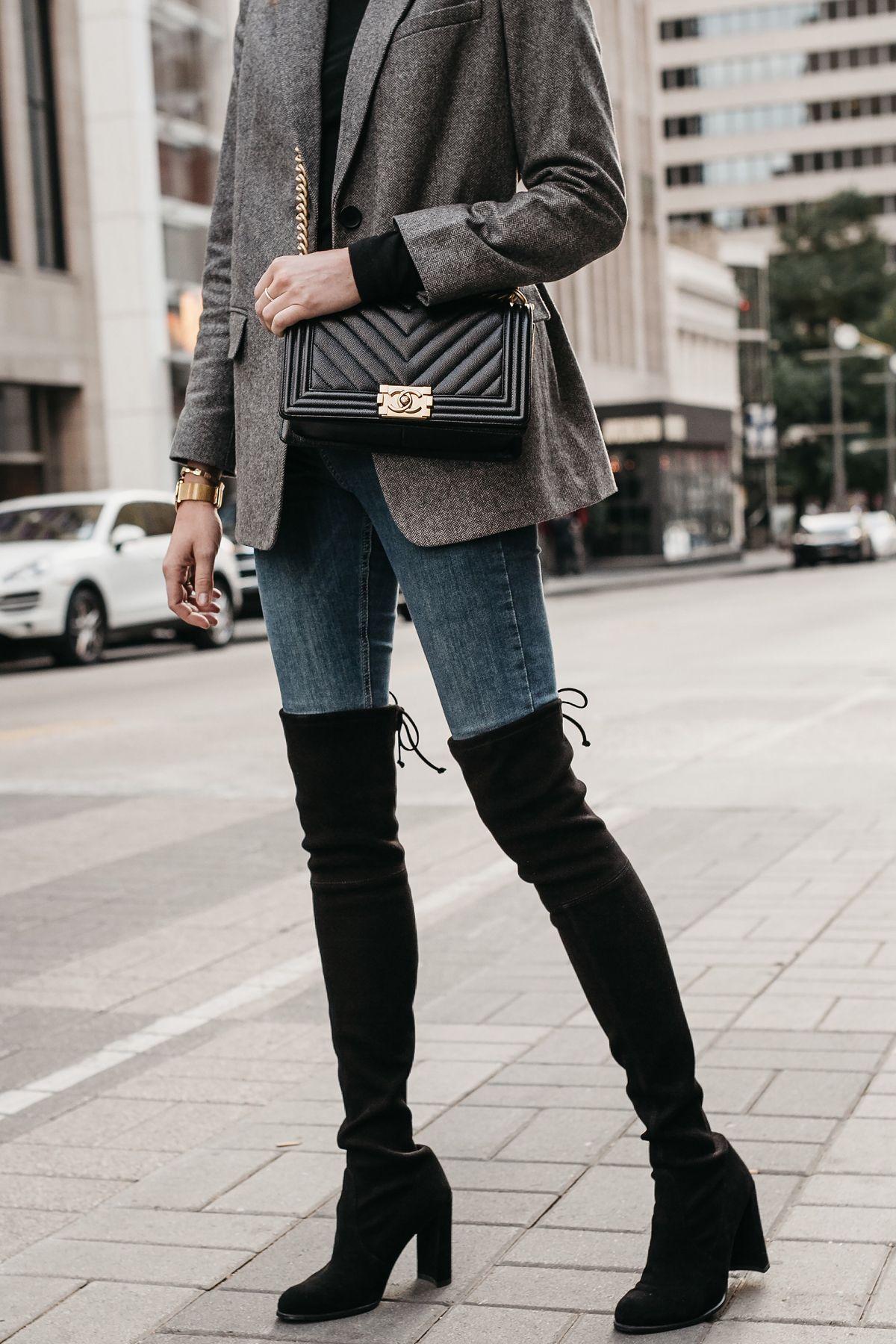 KNOTTED 100 stuart-weitzman el-gris Jeans tPwqPN