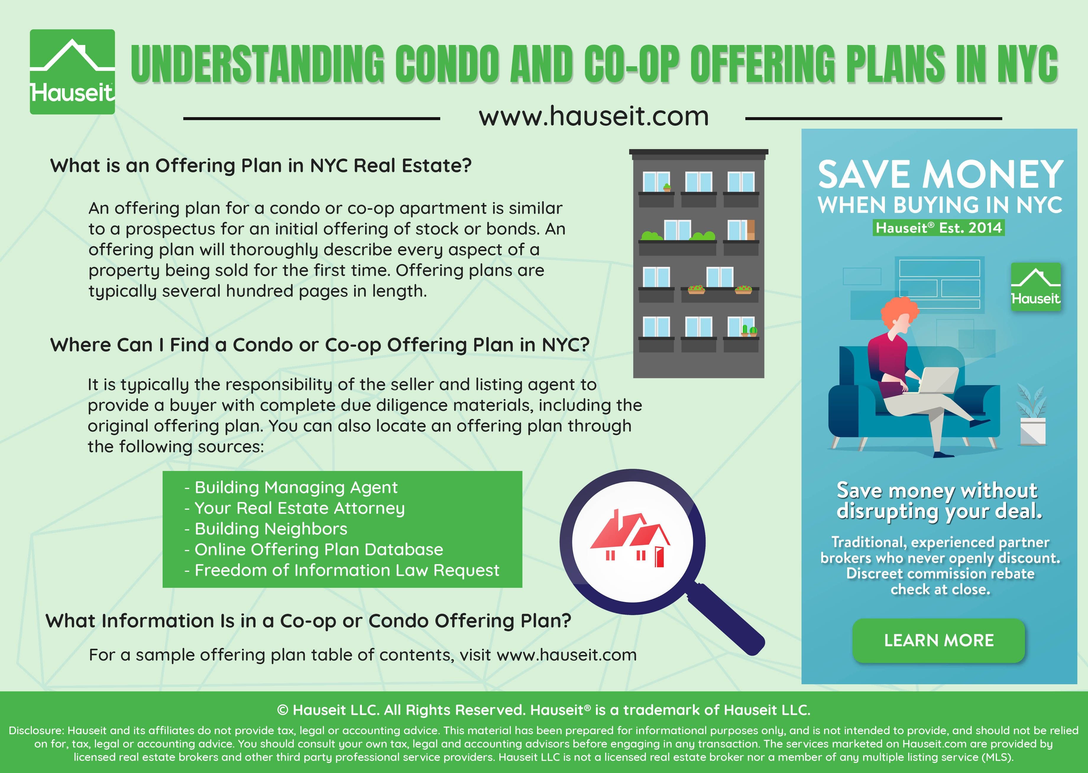 What Is An Offering Plan In Nyc Real Estate An Offering Plan For A Condo Or Co Op Is Similar To A Prospectus For An Initial Of Nyc Real Estate How To