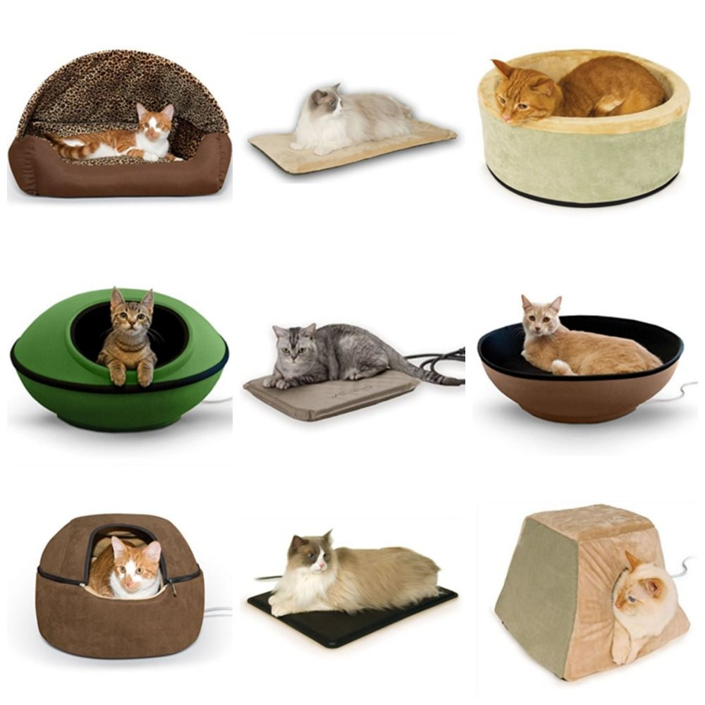 Heated Cat Beds Your Kitty Will Love Heated Cat Bed Heated Pet Beds Cat Sleeping