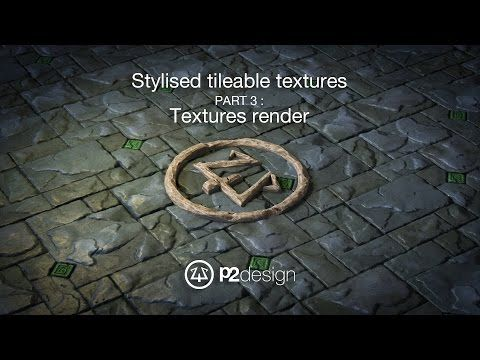 P2design Stylised tileable ROCK MAPS tutorial part 03 - YouTube