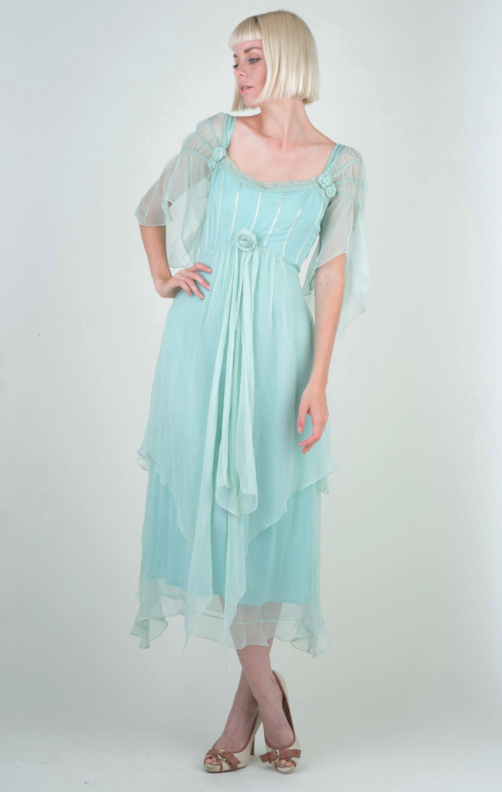 Othelia Off-Shoulder Summer Party Dress in Mint by Nataya - SOLD OUT ...