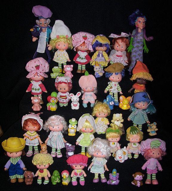 Strawberry Shortcake Dolls Doll Vintage
