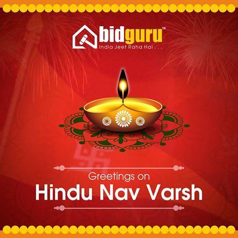Bidguru Wishes To Everyone Celebrating Hindu Nav Varsh May These