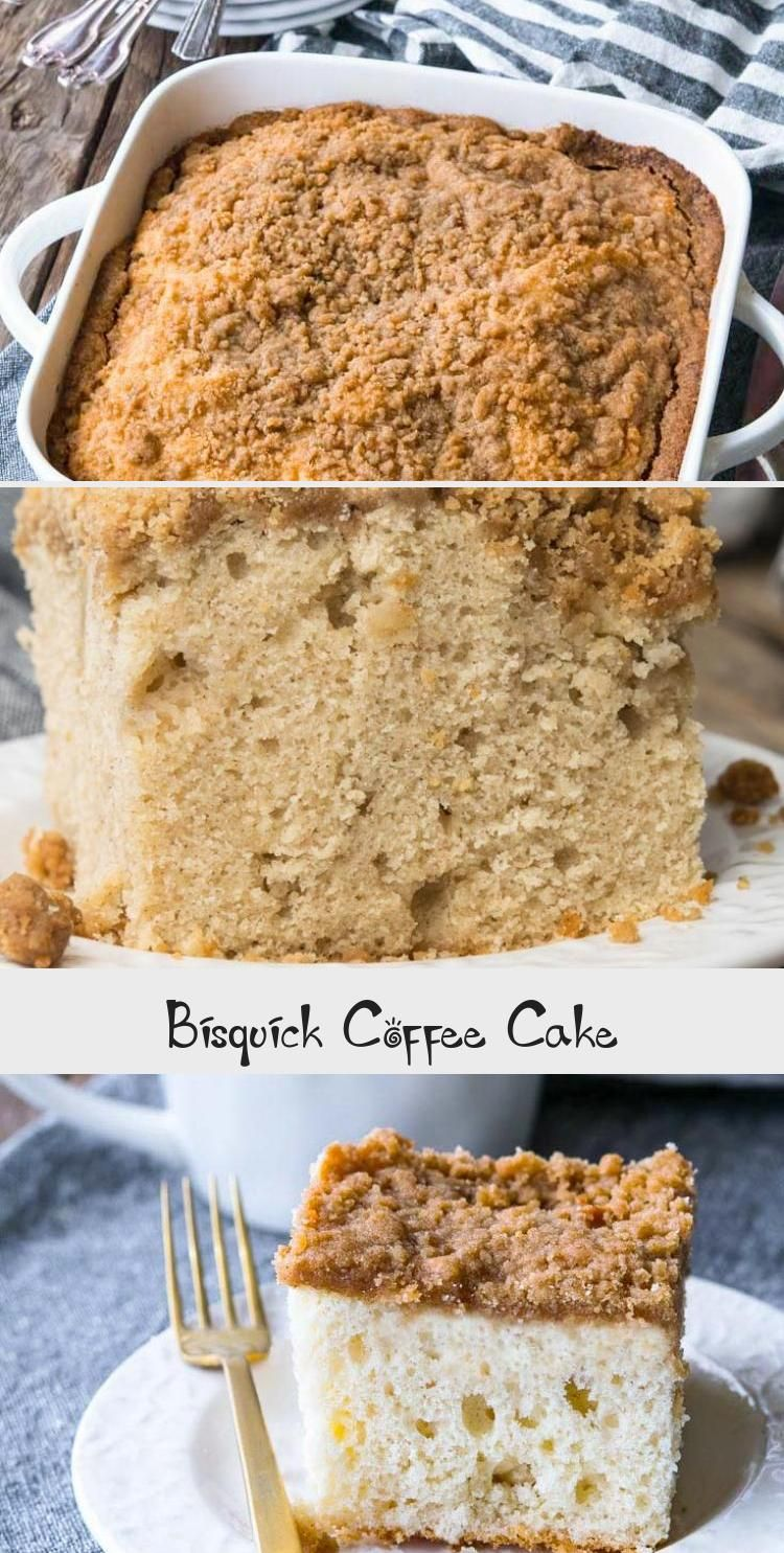 This Incredible Bisquick Coffee Cake Recipe Is Sweet And Nostalgic Bringing You Back To Grandma S Kitchen With Every Bite Bisquickcoff In 2020 Bisquick Coffee Cake Recipe Coffee Cake Best Coffee Cake Recipe