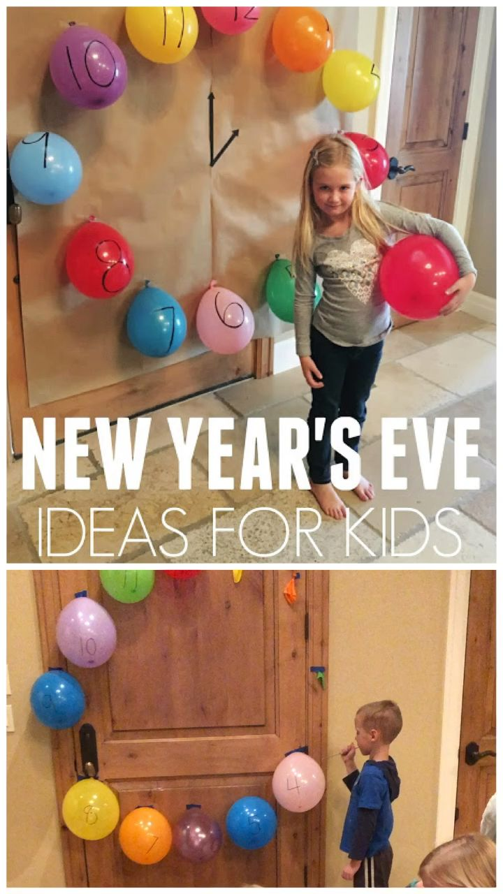 Awesome New Years Eve Party Ideas for Kids