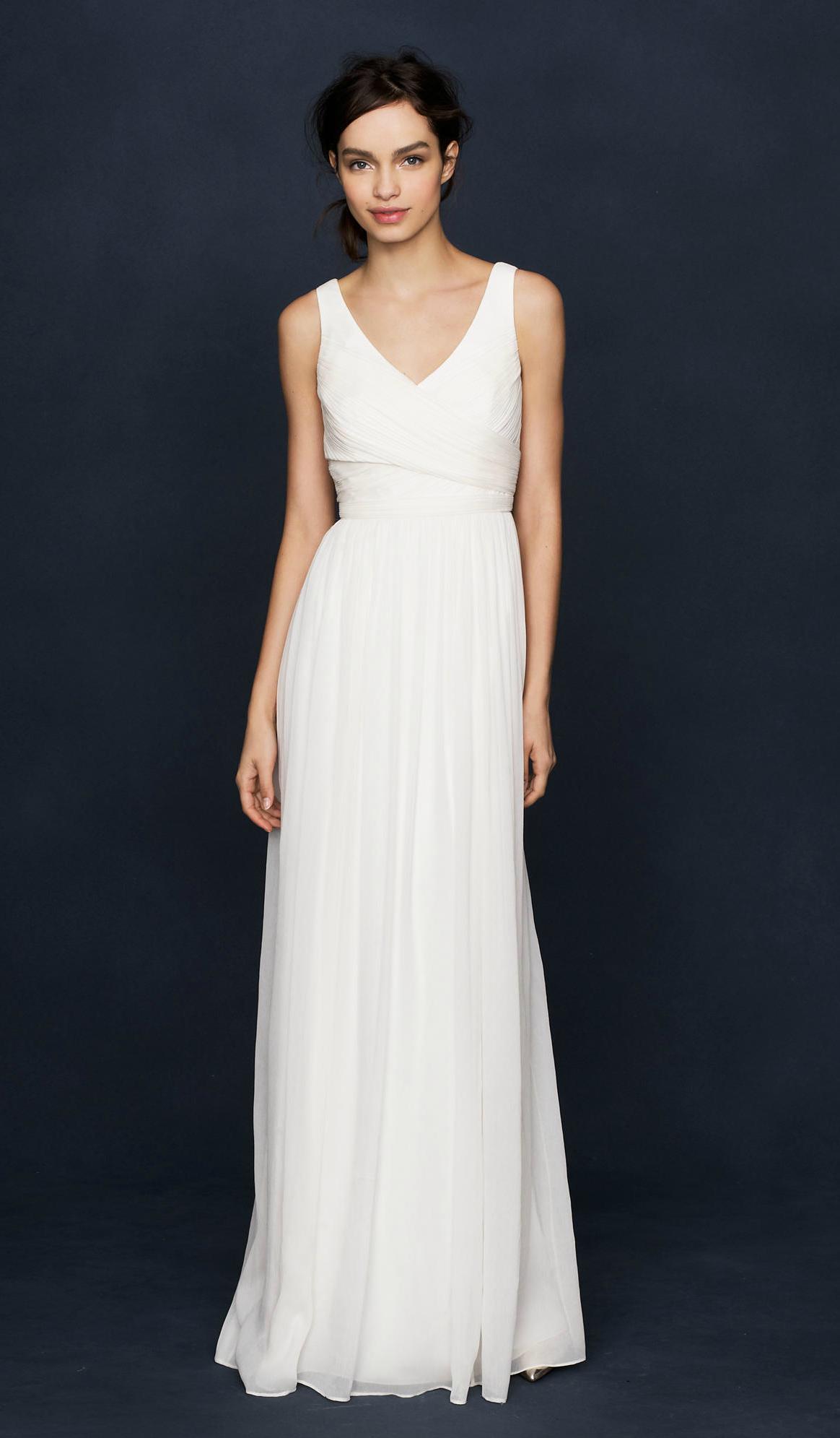 J Crew Wedding Dresses Heidi Chiffon Bridal Gown Petite Wedding Dress Cheap Wedding Dress Affordable Wedding Dresses