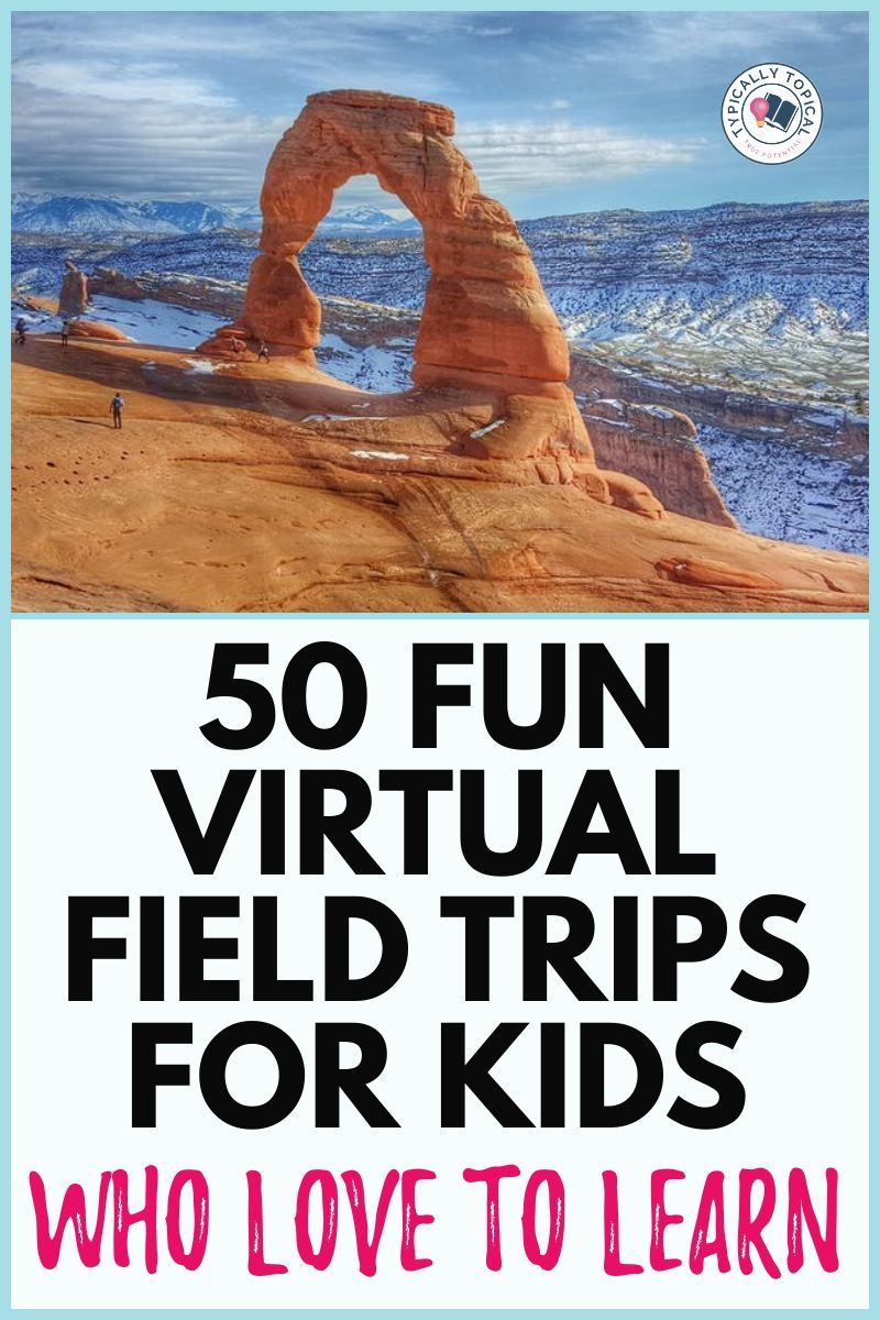 Photo of 50 Fascinating Virtual Field Trips For Kids | Home School Geography Activities | Kids Activities
