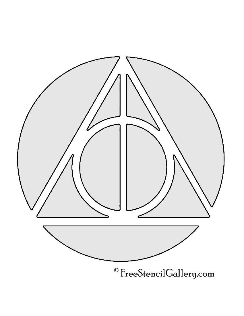 Harry Potter Deathly Hallows Symbol Harry Potter Pinterest