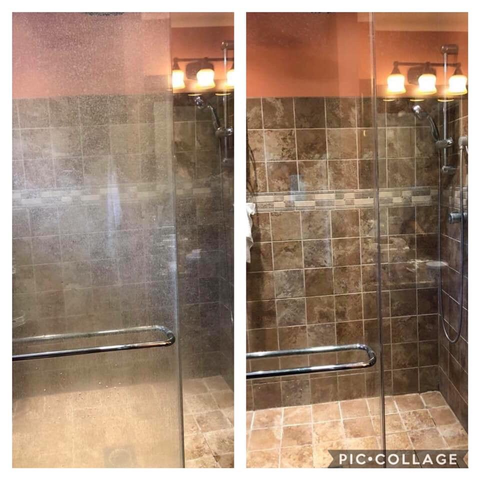 Easily Clean The Limescale And Soap Scum Off Your Shower Doors