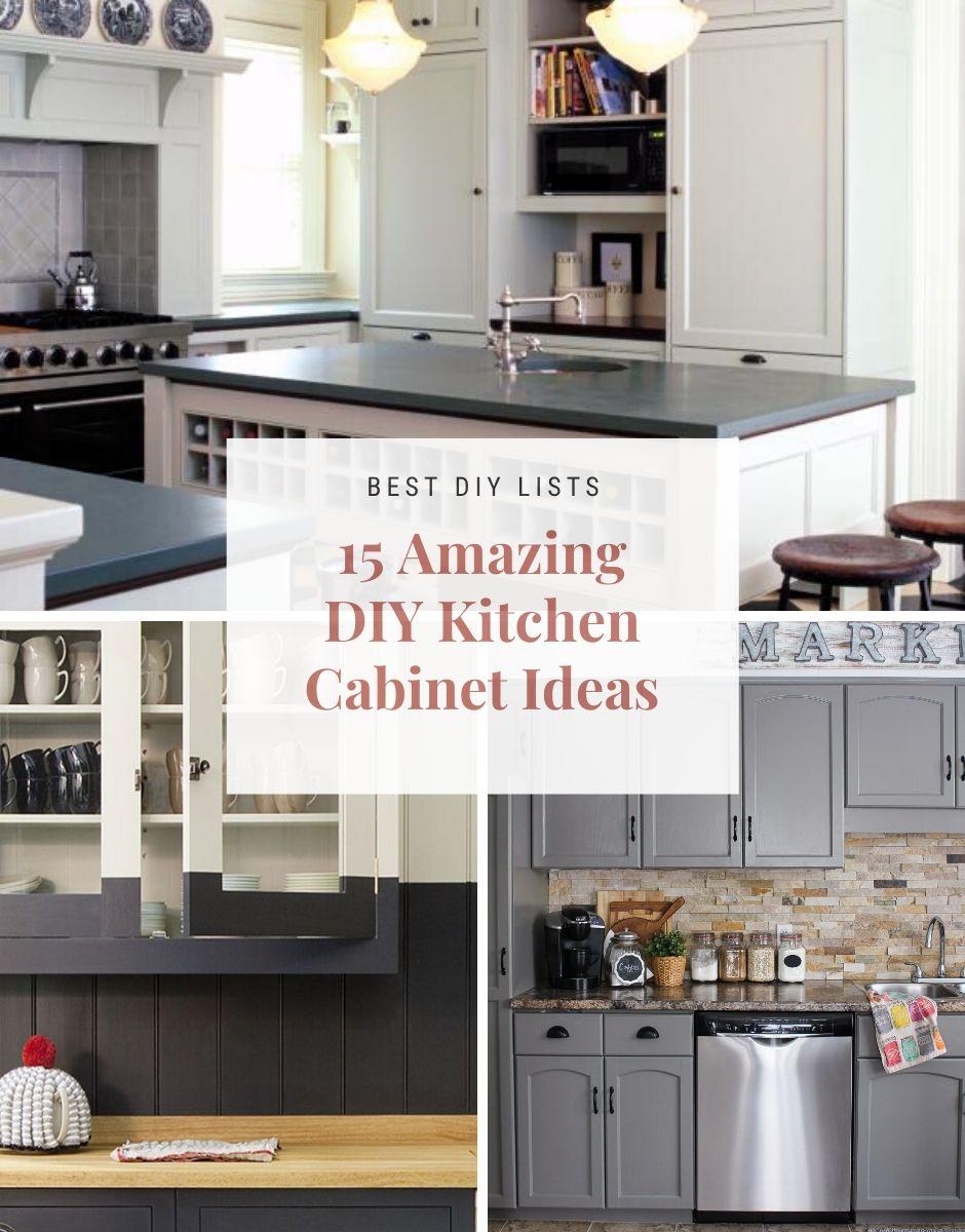 Best Kitchen Cabinet Diy Ideas Best Kitchen Cabinets Diy Kitchen Cool Kitchens