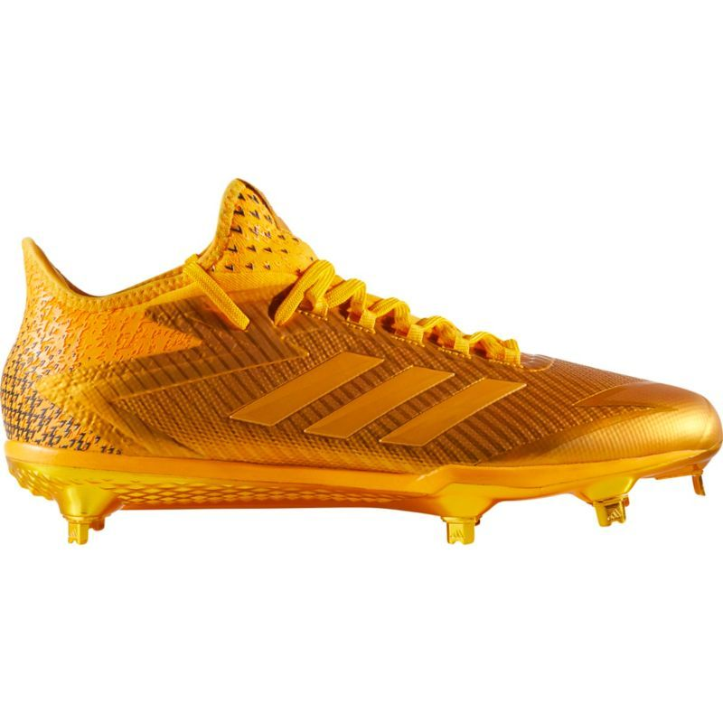 check out 37d67 3de7f adidas Men s adizero AfterBurner 4 Dip Baseball Cleats, Size  11.0, Gold
