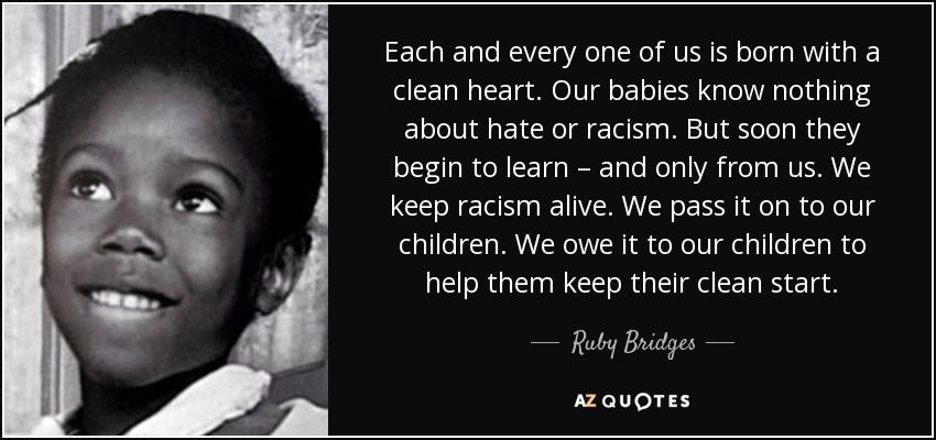Ruby Bridges Quotes Ruby Bridges Quote  Quoteshistoric Figures  Pinterest