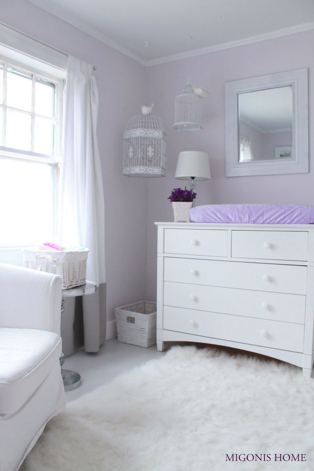 Baby Girl Lilac Baby Room Lavender Baby Girl Room Baby Girl Room Colors