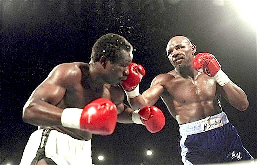 John The Beast Mugabi Marvelous Marvin Hagler Marvin Vintage Sports