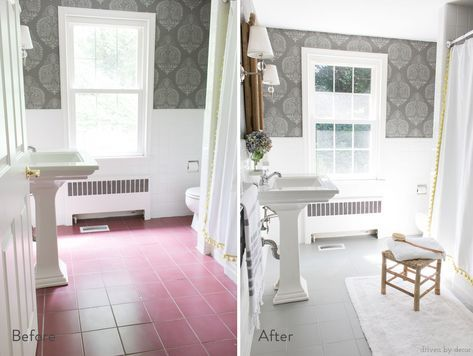 Sick Of Your Floor Tile You Should Paint It Diy House