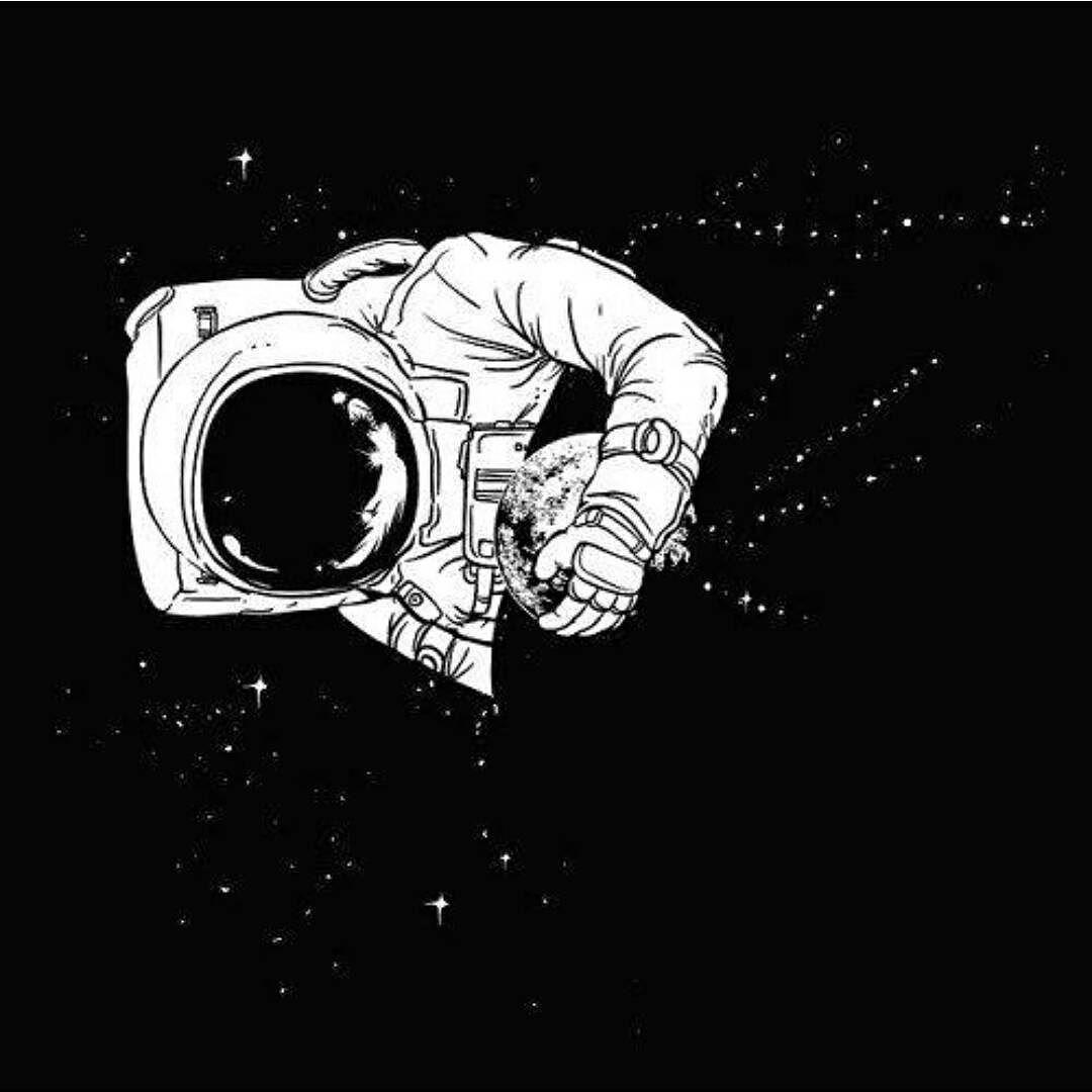 break dancing astronaut drawing - 736×736